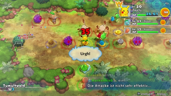 Pokemon-Mystery-Dungeon-Retterteam-DX-Kampf