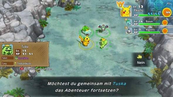 Pokemon-Mystery-Dungeon-Retterteam-DX-Rekrutieren