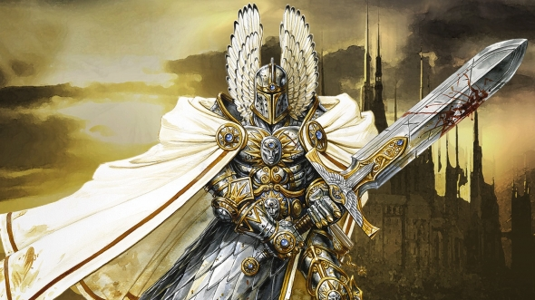 Header: Heroes of Might and Magic V - The wait is over, the wait begins