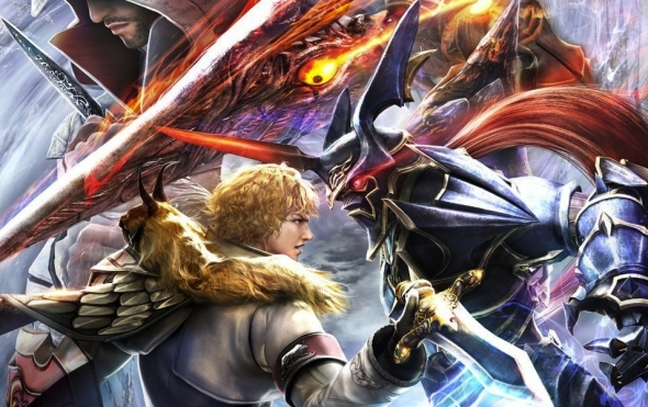 Header: Soul Calibur V - This is a tale of souls and swords...