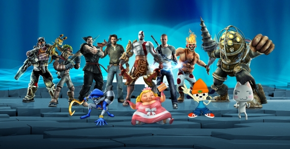 Header: Playstation All-Stars Battle Royale - Aggressives Kuddlmuddl für Sonyfreunde