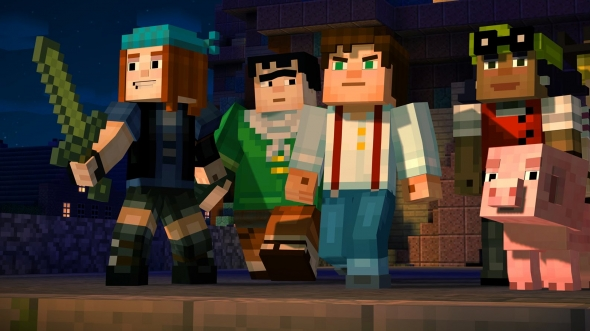 Header: Minecraft: Story Mode - Episode 1: Order of the Stone im Test