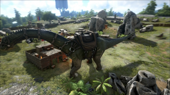 Angespielt Ark Survival Evolved Dinos Jagen Hauser Bauen
