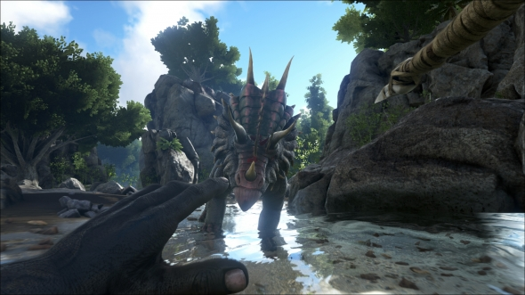 ARK-Survival-Evolved-Triceatops