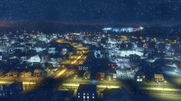 Cities: Skylines - Snowfall im Test - Im Schneesturm